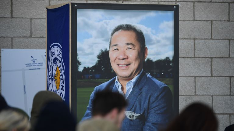 Dennis Wise pays tribute to Leicester City owner Vichai Srivaddhanaprabha