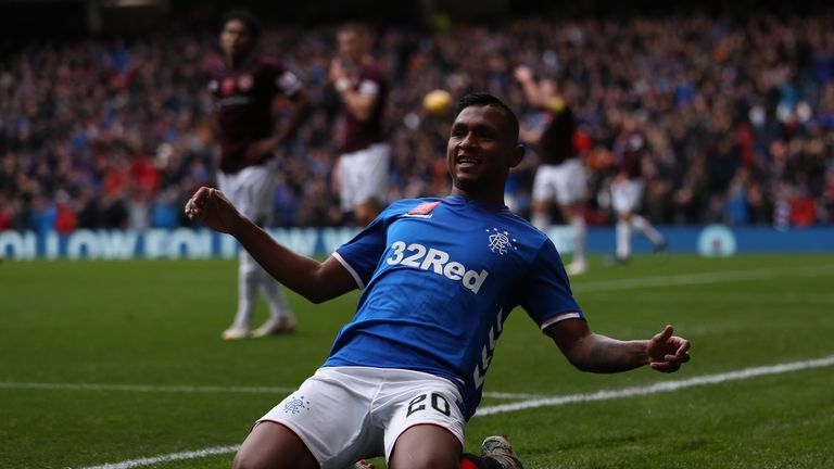 Hearts' unbeaten start to the Scottish Premiership season juddered to a halt as they were comfortably beaten 3-1 by Rangers at Ibrox