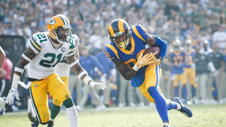 Highlights from the NFL as Green Bay Packers took on Los Angeles Rams in Week 8.