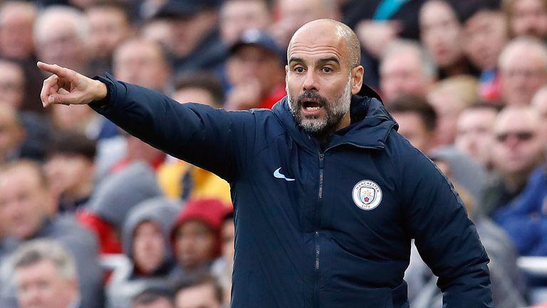 Man City boss Pep Guardiola says Premier League title is five-horse race