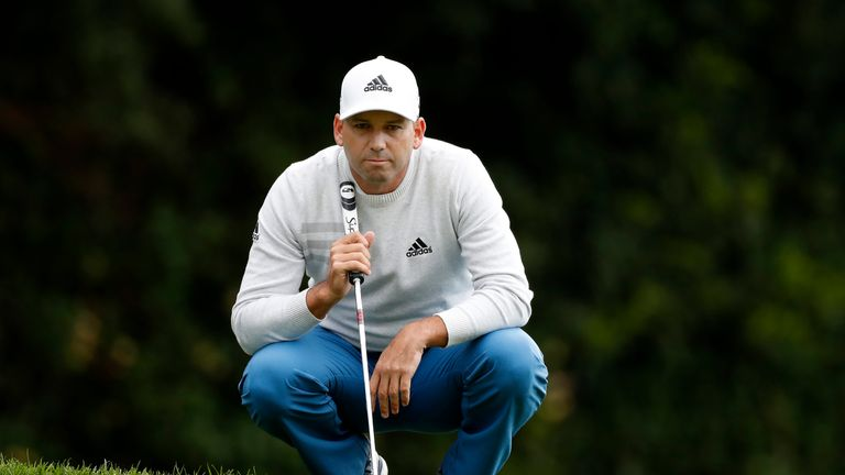 Valderrama Masters - Sergio Garcia two shots back after first-round 68
