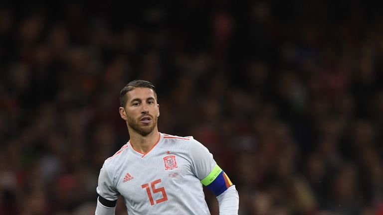 Spain defender Ramos: We gifted the first half to England