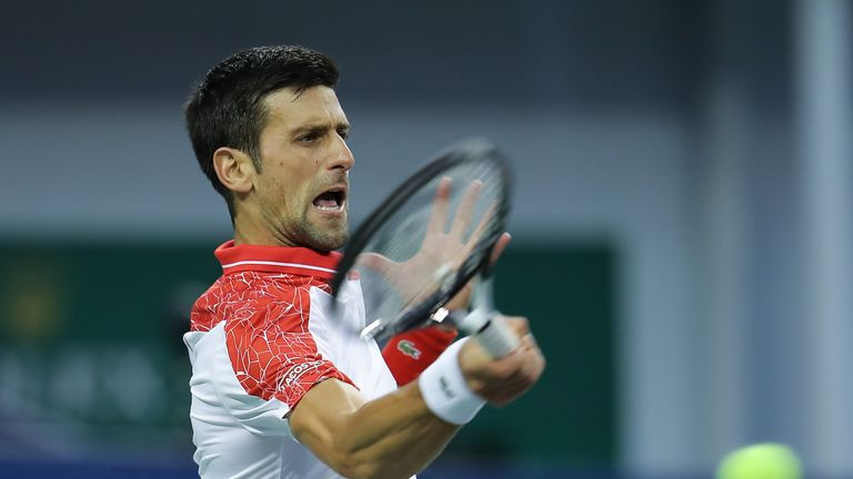 5:55                                               Highlights as Novak Djokovic continued his scintillating run of form as he breezed past Croatian Borna Coric