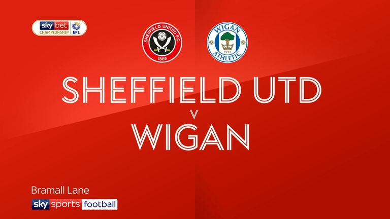 Highlights of Wigan's recent 4-2 defeat to Sheffield United in the Championship