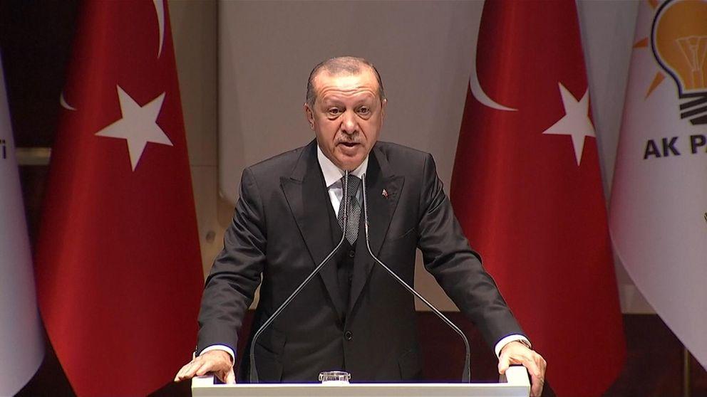 erdogan update on khashoggi in ankara