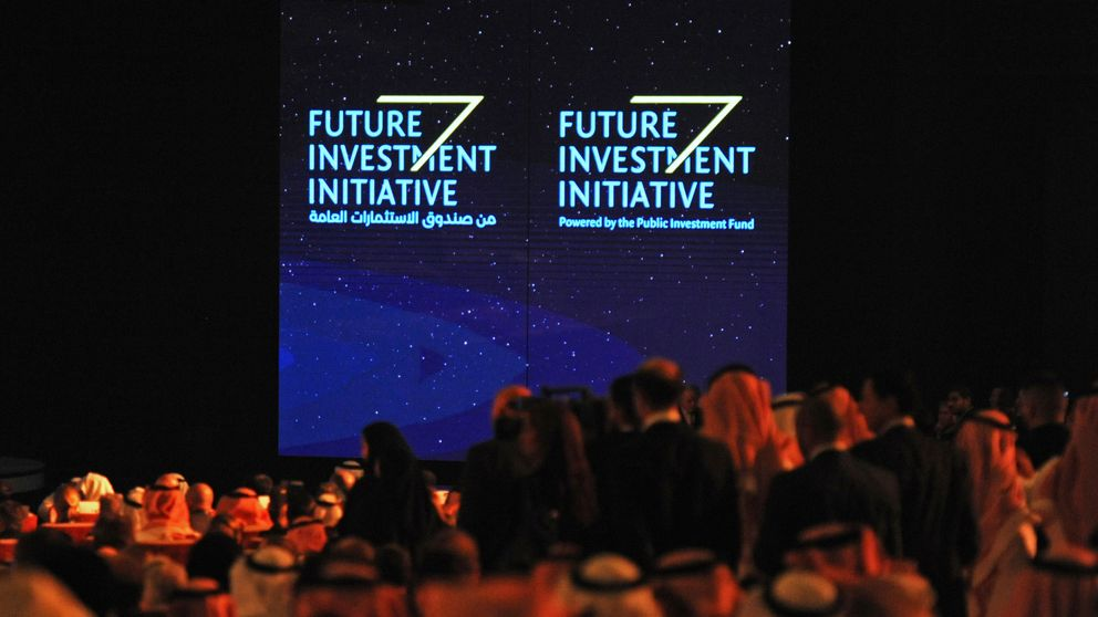 The Future Investment Initiative is usually attended by top business figures and policymakers from across the world