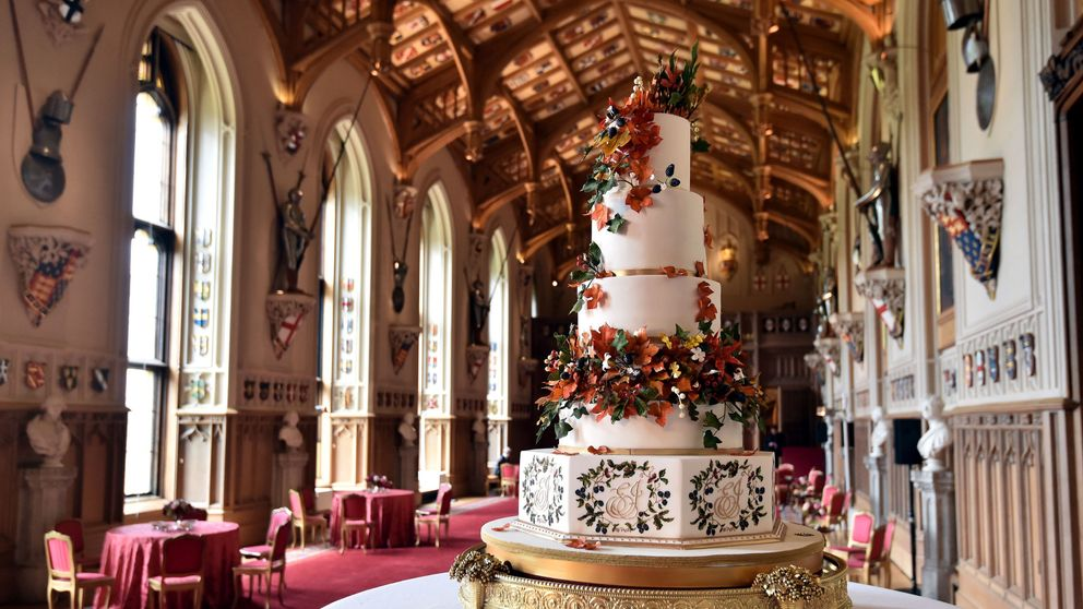 The wedding cake created by Sophie Cabot