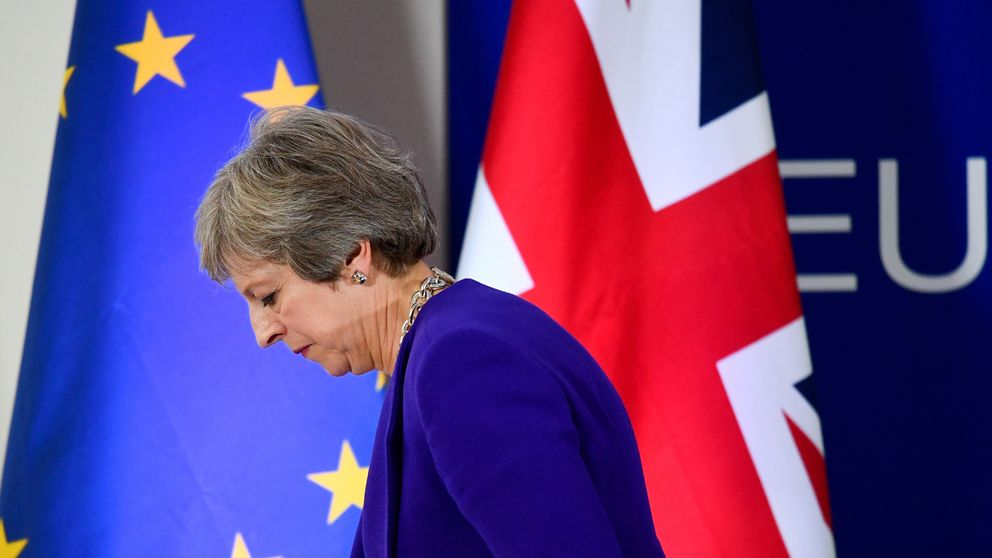 May to lay leadership on line for Brexit deal