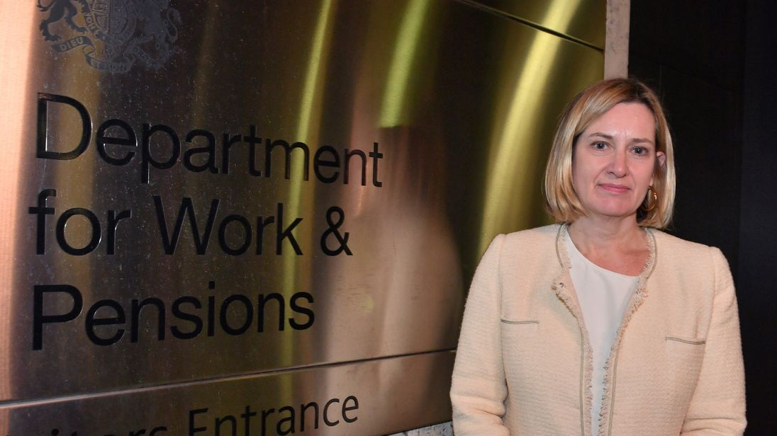 Amber Rudd 'returns to cabinet as work and pensions secretary'