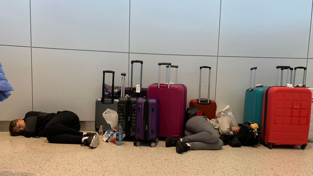 British Airways 'flight from hell' leaves passengers stranded at JFK
