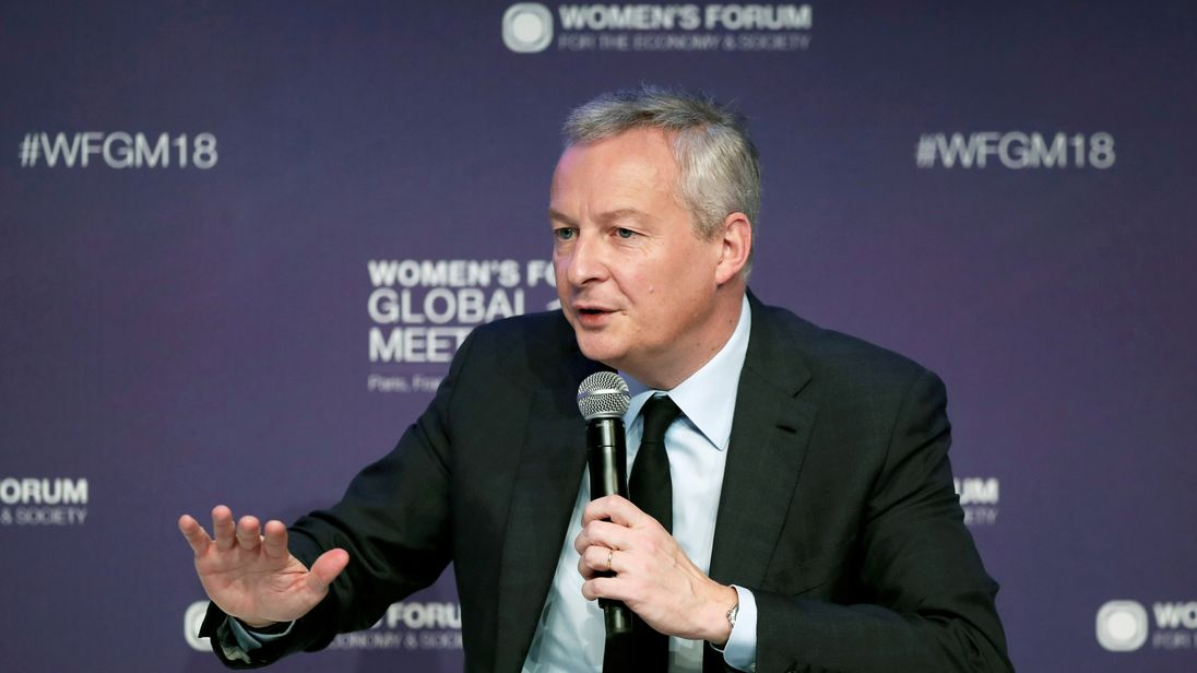Bruno Le Maire said Brexit has come at an 'exorbitant' price