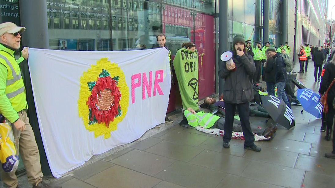 'Rebellion Day' activists to block five London bridges