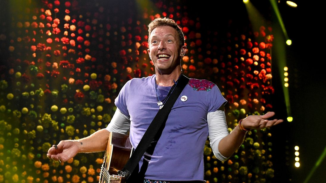 Coldplay adopt new alias to drop first track in three years