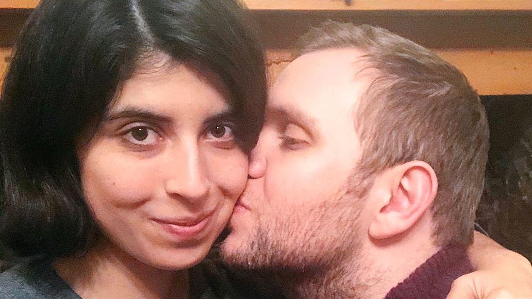 Daniela Tejada and Matthew Hedges. Pic: Daniela Tejada.