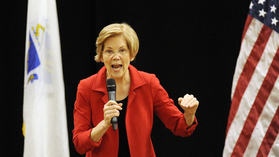 Elizabeth Warren starts campaign to unseat Trump in 2020