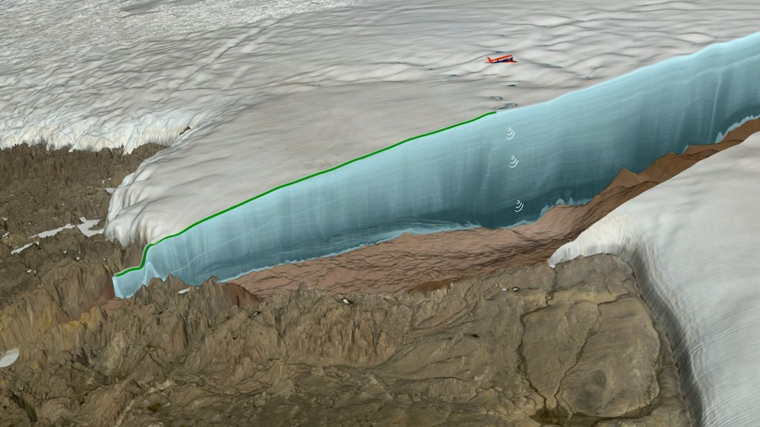Scientists Discover Giant Impact Crater Under Greenland Ice