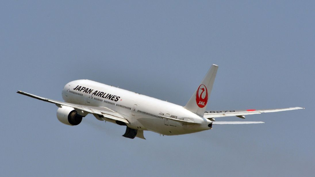 The pilot was due to take off in Japan Airlines flight from Heathrow