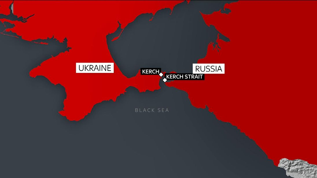 At least 11 killed after two ships catch fire in Kerch Strait