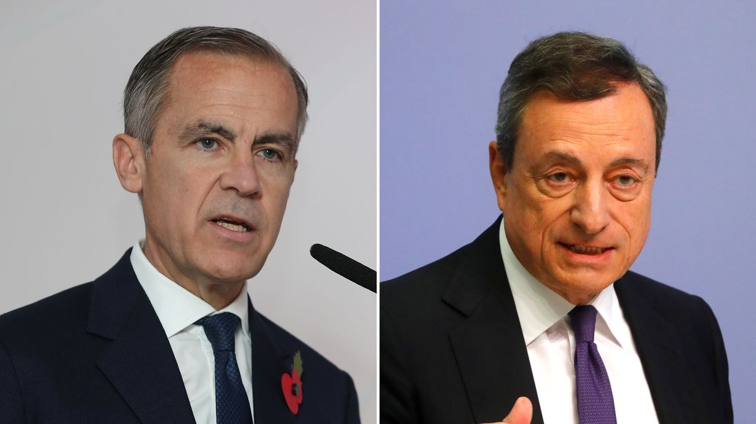 Mark Carney and Mario Draghi
