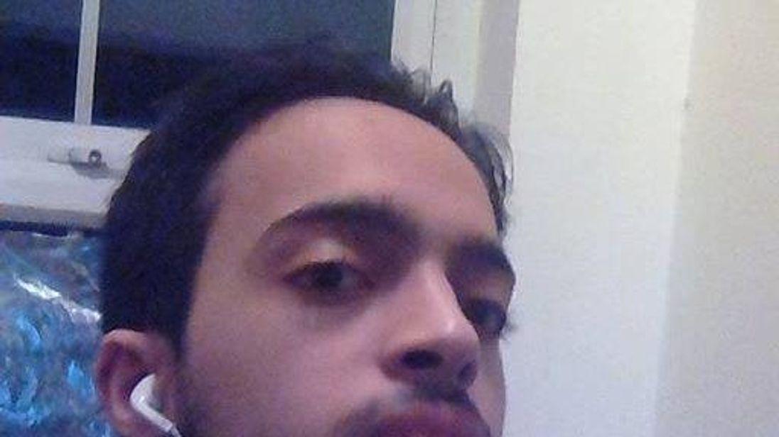 Muhammed Fathi AbulKasem was arrested in Egypt. Pic: Facebook