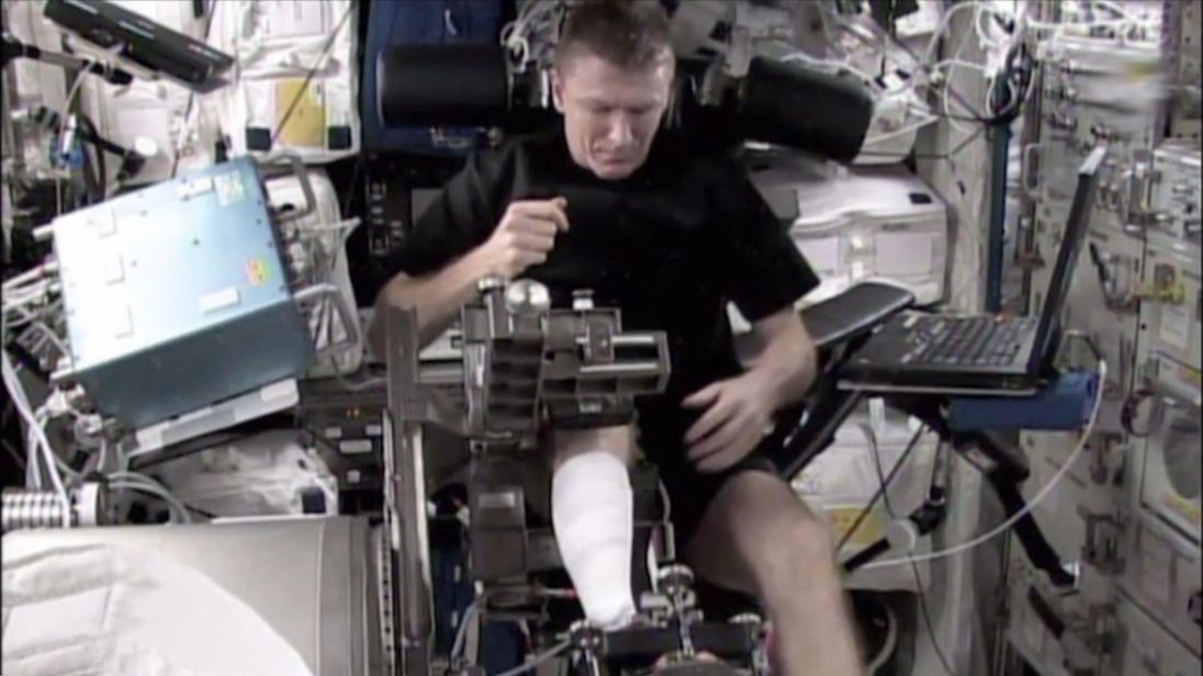 Muscle loss in elderly people could be prevented or reversed following experiments to be conducted on the International Space Station.
