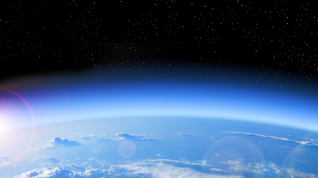 Gaping hole in ozone layer 'is healing itself' scientists say