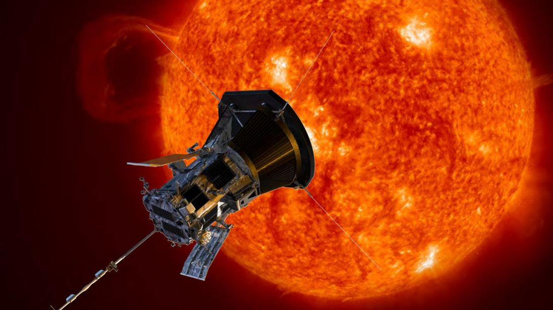 The Parker Solar Probe has gotten closer to the sun than any other spacecraft in history. Pic: NASA/Johns Hopkins APL/Steve Gribben