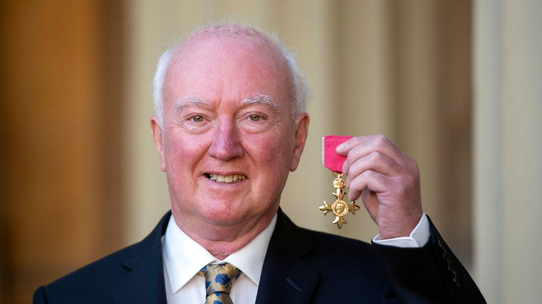 Peter Lawrence was made an OBE this week for his work with the relatives of missing people