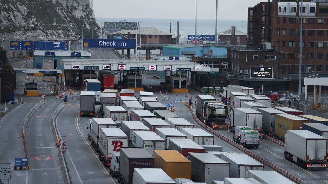 There is concern over the impact over a no-deal Brexit on key customs checks