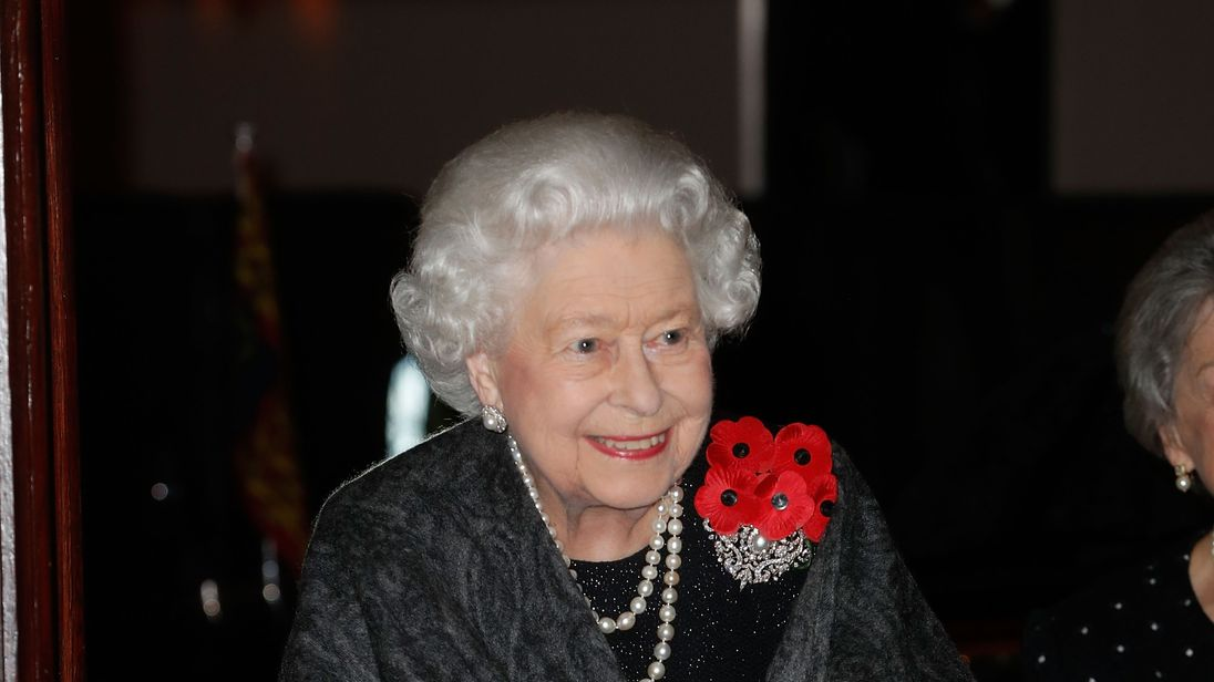 Reasons for the Queen wearing five poppies on Armistice Day