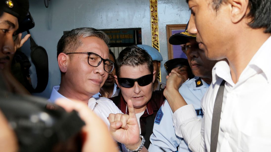 Bali Nine's Renae Lawrence released from Indonesian prison after 13 years