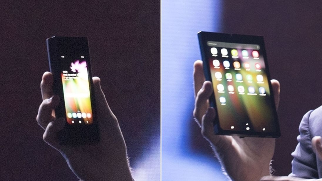 Samsung has presented its new foldable screen
