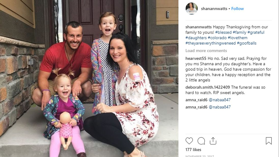 Shanann Watts and her family