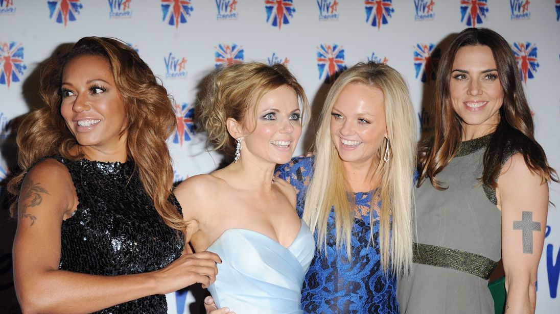 The Spice Girls announce six-date UK stadium tour without Victoria Beckham