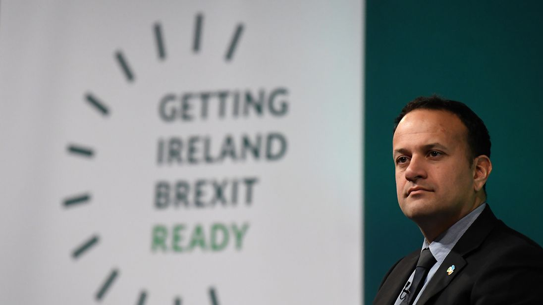 Irish PM tells United Kingdom it can't halt backstop plans