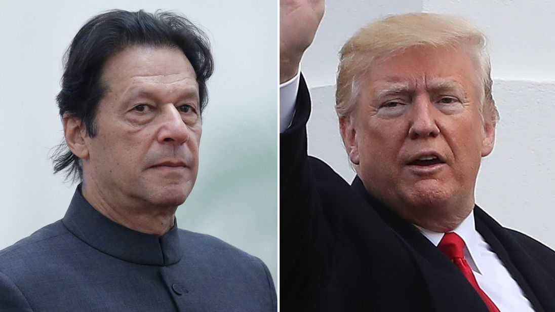 Trump, Pakistani PM Exchange Accusations on Twitter in War of Words