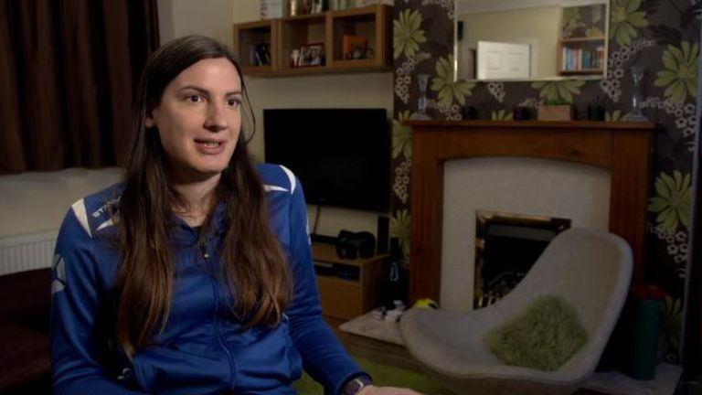 Rushmoor Ladies player Natalie Washington tells Sky Sports News how football has provided her with an escape from the day-to-day reality of being a transgender woman