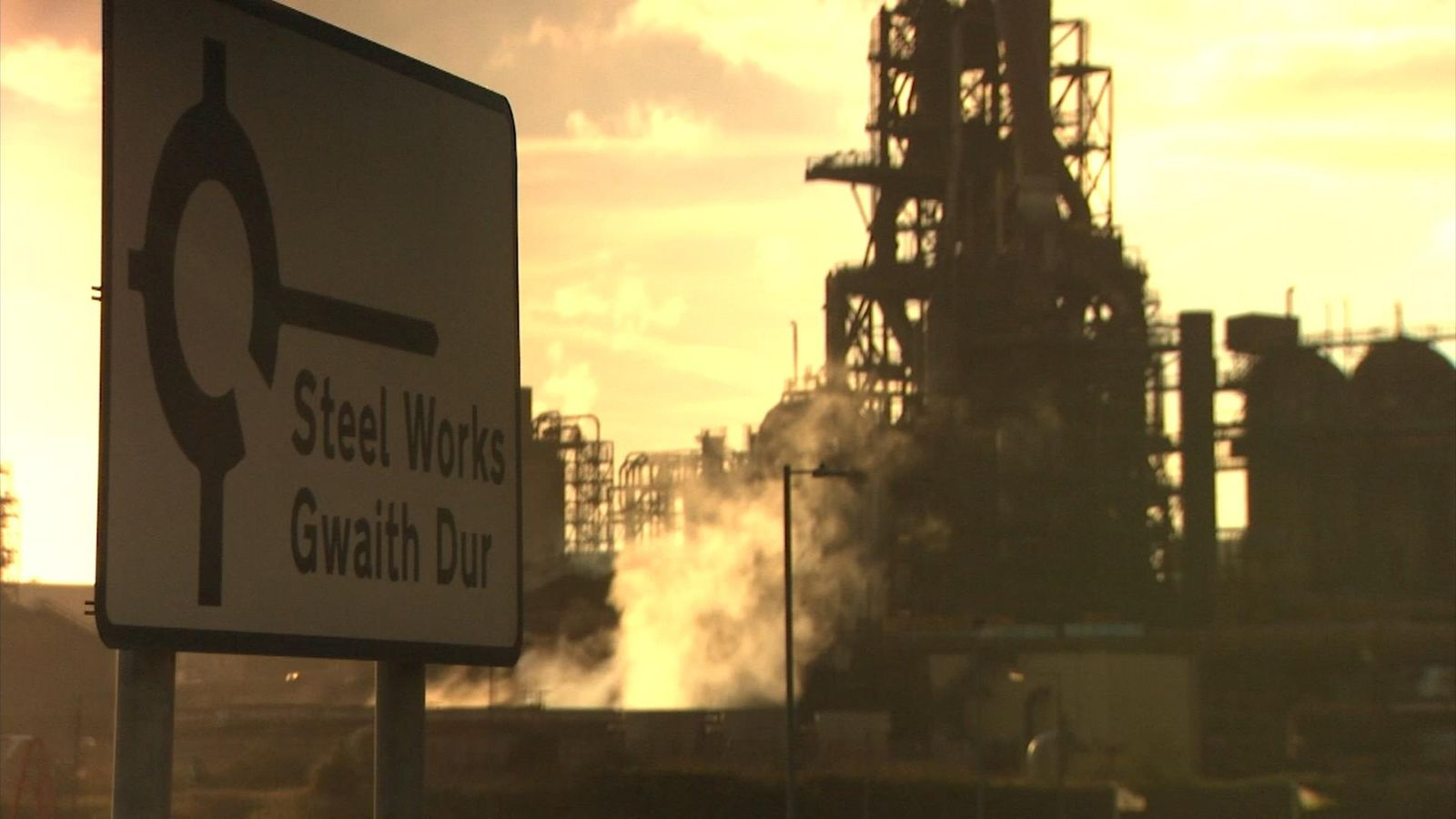 Thousands of people are employed at the steelworks in Port Talbot