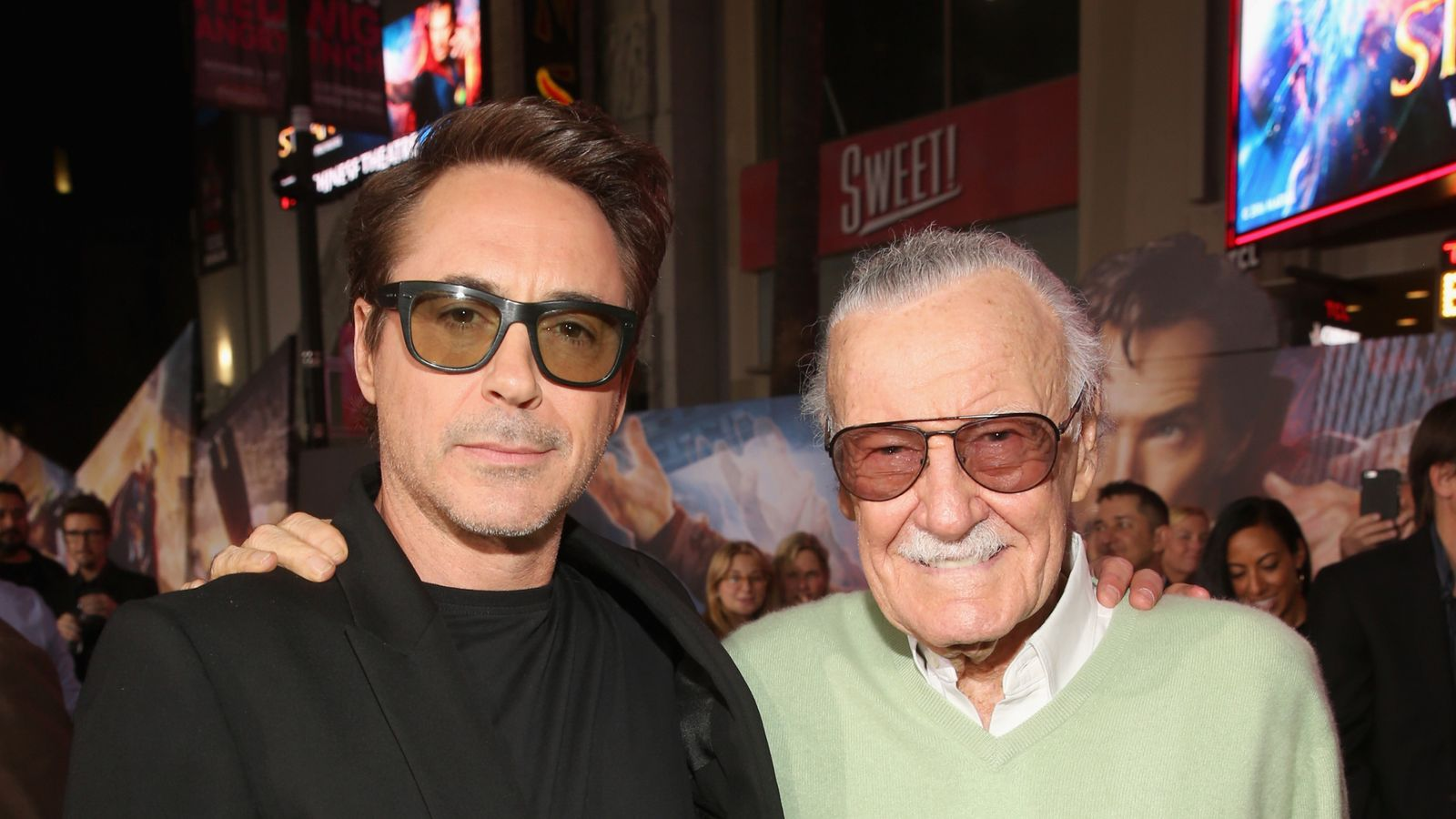 Stars pay tribute to Marvel's 'creative genius' Stan Lee