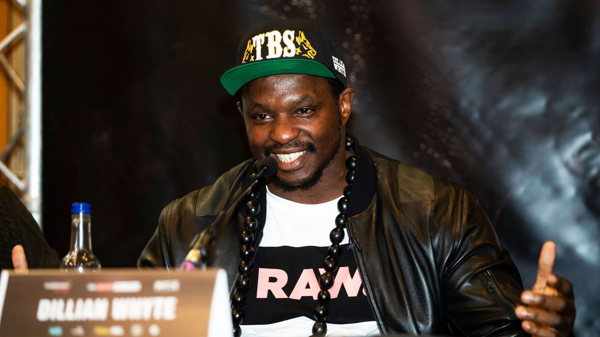 d7a419c2a0ba5 Whyte vs Chisora 2  Dillian Whyte aims message at Anthony Joshua ...
