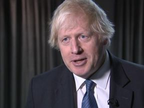 Former Foreign Secretary Boris Johnson says he attended the DUP in Belfast to support the DUP policy of a strong union between Great Britain and Northern Ireland.