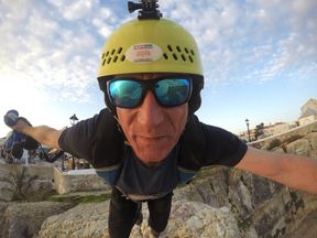 The 50-year-old was well-known in Germany's extreme sports scene. Pic: Dominik Loyen/Facebook