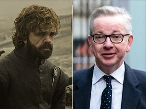 Michael Gove says Tyrion Lannister is 'undoubtedly' his favourite Game of Thrones character