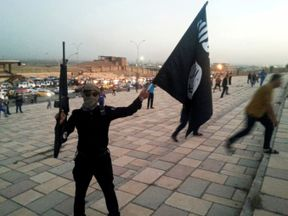 IS invaded large swathes of Iraq in 2014
