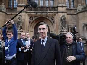 Jacob Rees-Mogg was one of the first MPs to submit his letter of no confidence in the PM