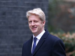 Conservative party MP Jo Johnson leaves 10 Downing street in central London after the first cabinet meeting of the new year following a reshuffle on January 9, 2018. British Prime Minister Theresa May sought to complete a government shake-up January 9, 2018, without further blunders after a first day marred by farce and the refusal of some ministers to move. / AFP PHOTO / Daniel LEAL-OLIVAS (Photo credit should read DANIEL LEAL-OLIVAS/AFP/Getty Images)