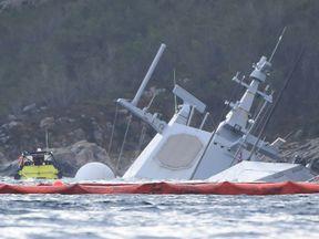 Norwegian frigate KNM Helge Ingstad