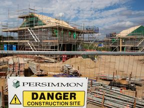 Persimmon is among the housebuilders feeling the squeeze on its stocks, amid the continuing political crisis over Brexit
