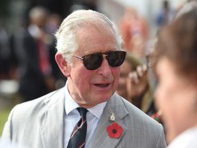 The Prince of Wales during his visit to the British Council Arts Festival in Lagos, Nigeria on day eight of the royal couple's trip to west Africa