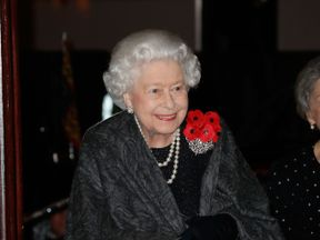 The Queen at the Festival of Remembrance at the Royal Albert Hall